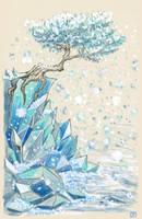 Origin of snow by Nnearobot