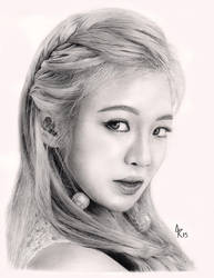 Girls' Generation - Hyoyeon by scloak