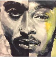 2pac and Kendrick Lamar  by bambiaadams