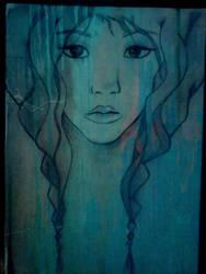 Feeling blue... by RyRyArt
