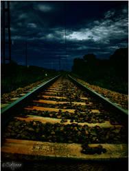 On long, dark roads.... by satyaaa