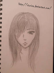 Just a girl by Amberheaf