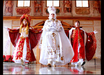 Trinity Blood - blessings and mercy by NanjoKoji