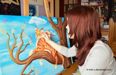 Cat (wip) by irisv-c