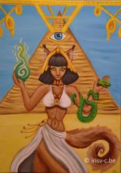 Cleopatra cat by irisv-c