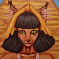 Cleopatra cat detail by irisv-c