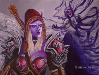 Sylvanas the warchief -wow by irisv-c
