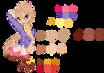 Serena Palette by DreamofWinx
