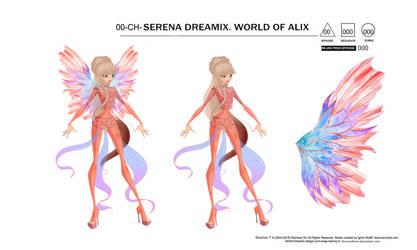 Serena Dreamix Sheet by DreamofWinx