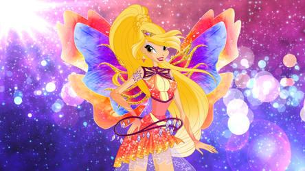 Stella Enix Artwork  by DreamofWinx