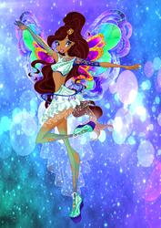Aisha Enix Artwork 2D by DreamofWinx