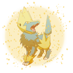Manectric-Charge by Sandstormer