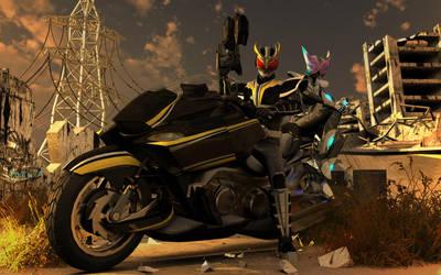 Kamen Rider Hyougiin -scene- by Councilor