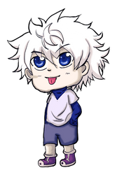 Killua Zoldyck by insanexyuki