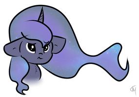 Luna's Hair iz Space by meta-cause