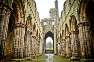 Kirkstall Abbey Interior by xo-lexus-ox