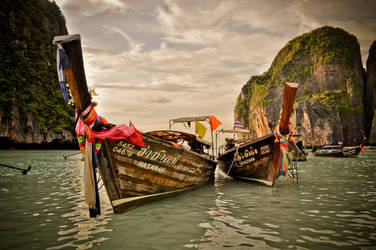 Maya Bay Long Boats by xo-lexus-ox