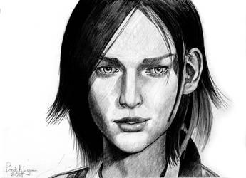The Evil Within Juli Kidman by PatricksDrawings
