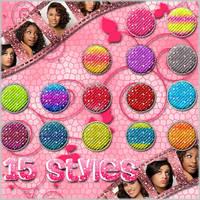 15 Styles Estilosos Br:B by NessiePalomitas