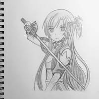 Asuna  by ScarlettCelestia