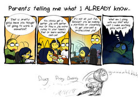 Beeswax Test 002- Dad nagging by InYuJi