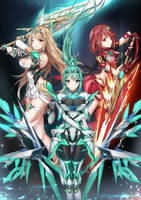 Xenoblade 2 - Aegis by Coffee-Straw-LuZi