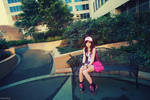 Pokemon Hilda / Touko [08] Castelia City by beethy