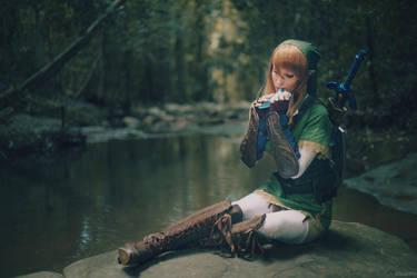 The Legend of Zelda - 03 - Faron Woods by beethy