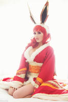 Pokemon - Flareon -01- by beethy
