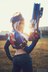 Overwatch - Soldier: 76 by beethy