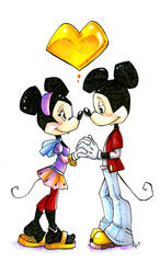 Mickey and Minnie Revamp by Ellis1342