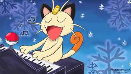 Meowth - Nobody Don't Like Christmas by ImmaComicGenius