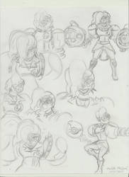 Dr. Coyle Sketches by ImmaComicGenius