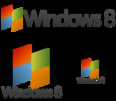 Windows 8 --- Logo Idea --- FanArt by kevboard