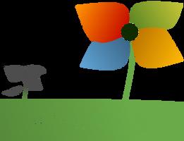 Windows 9 Flower --- Logo Idea --- FanArt by kevboard
