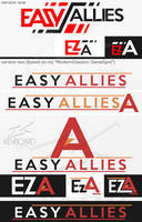EasyAllies --- Logo Idea --- EZA by kevboard