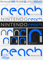 Nintendo NX - Logo Ideas 1 - REACH by kevboard