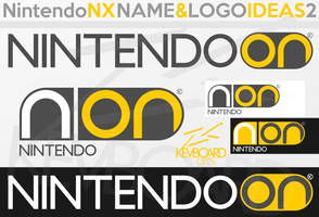 Nintendo NX - Logo Ideas 2 - ON by kevboard