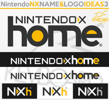 Nintendo NX - Logo Ideas 3 - NX home by kevboard