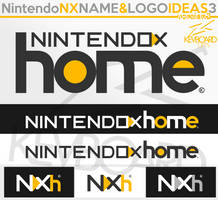 Nintendo NX - Logo Ideas 3 - NX home - VERSION 2 by kevboard