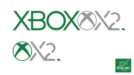 Xbox Two   Logo Idea #2   'Xbox X2' by kevboard