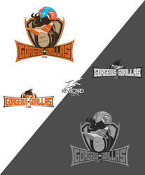 EZA - Prodcast Season 4 Logo - GORGEOUS GORILLAS by kevboard