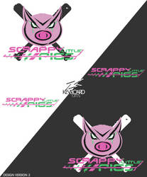 EZA- Prodcast S.4 Logo -SCRAPPY LITTLE PIGS v2 by kevboard