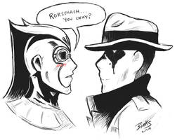 Who watches the Watchmen? by ElmFox