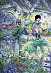 Underwater Story by natzufall