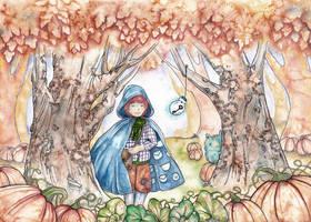 Autumn Forest by natzufall