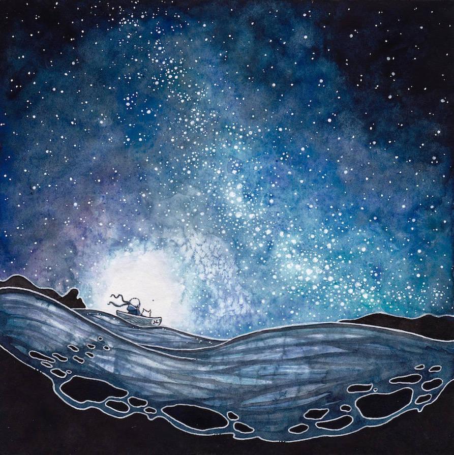 Milky Way Wallpaper: Milky Way By Natzufall On DeviantArt