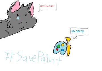#SavePaint by ahiddenhusky