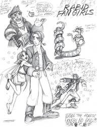 Attack of the Rabid Fan Girls by queenbean3