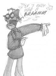 BEN as the Scarecrow by queenbean3